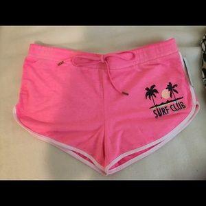 Cute Surf Club Pink Shorts! NWT
